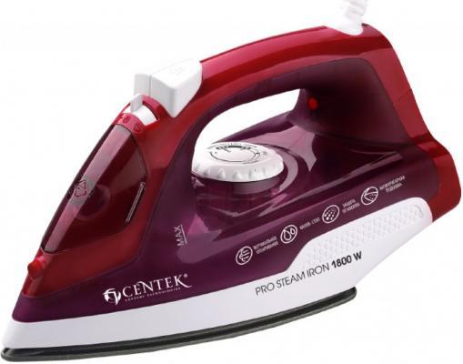 Утюг Centek CT-2347 PURPLE 1800Вт пурпурный утюг centek ct 2327 отзывы