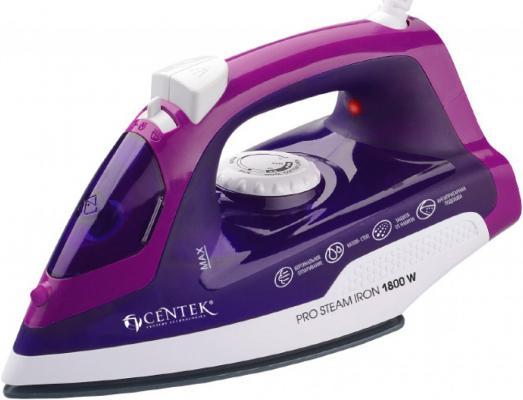 Утюг Centek CT-2348 VIOLET 1800Вт фиолетовый centek ct 1077 violet