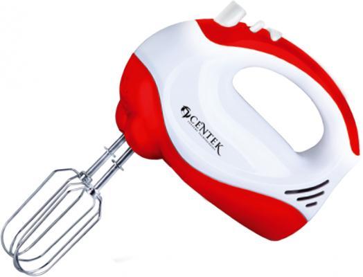 Миксер ручной Centek CT-1110 175 Вт белый красный junlinu белый красный 36