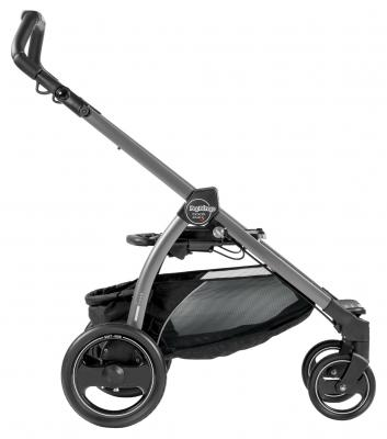 Купить Шасси BOOK PLUS S, для модульных систем и прогулочных колясок, цвет Jet графит, Peg-Perego, Шасси и рамы