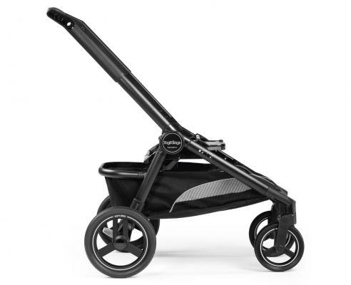 Купить Шасси TEAM, для модульных систем и прогулочных колясок, цвет Matt Black матовый черный, Peg-Perego, Шасси и рамы