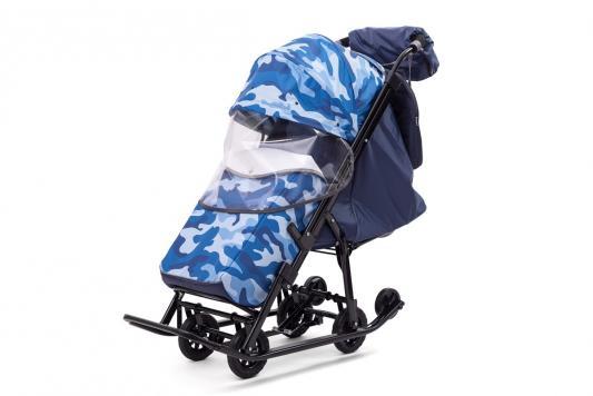 Фото - Санки-коляска Compact Military, цвет синий, Pikate micro camera compact telephoto camera bag black olive