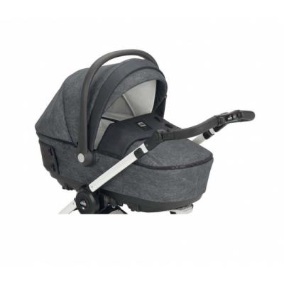 Модульный сет Soul: люлька, прогулочный блок, автокресло-переноска и сумка, цвет 726 серый, CAM автокресло cam regolo 499 бежевый серый