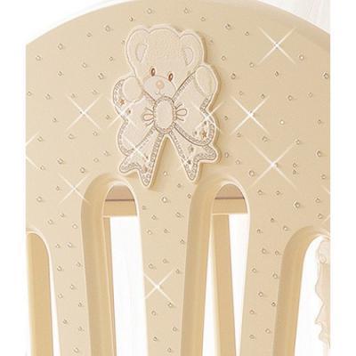 Декор Prestige Principe, цвет магнолия, PALI кроватка качалка pali principe prestige магнолия