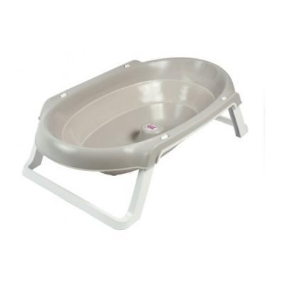 Купить Onda Slim, ванночка складная 895 ассорти яркий 0040, Ok Baby, серый, для мальчика, для девочки, Ванночки