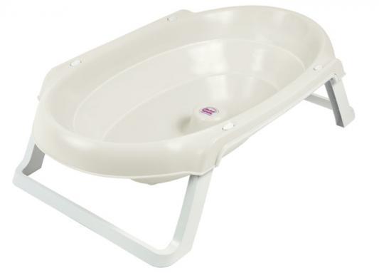 Купить Onda Slim, ванночка складная 895 белый 68, Ok Baby, для мальчика, для девочки, Ванночки