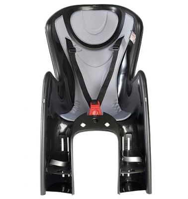 Купить Велосипедное кресло OK Baby велосипедное кресло 732 nero/grigio 50, черный/серебристый серый, Аксессуары для детских велосипедов