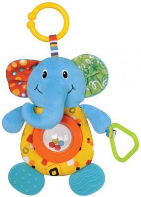 Купить Интерактивная игрушка OK Baby Слоненок от 1 года, Parkfield, разноцветный, н/д, унисекс, Игрушки-подвески
