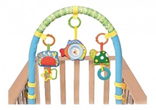 Купить 81532В Игровая дуга на детскую кроватку (краб, рыбка, черепашка), Parkfield, OK Baby, Пластик, Для всех, Развивающие коврики и дуги