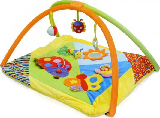 81043 Игровой коврик «Бабочка и друзья», Parkfield подвесные игрушки parkfield музыкальный слоник