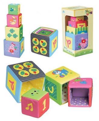 Кубики Parkfield Игрушка - кубики с 6 месяцев 4 шт, Кубики и стенки  - купить со скидкой