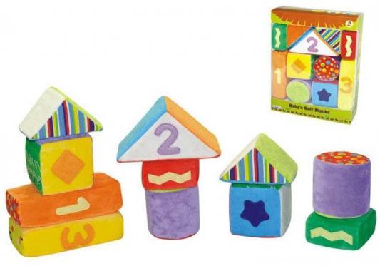 Кубики Parkfield Мягкие кубики - пазл с 6 месяцев 11 шт, Кубики и стенки  - купить со скидкой