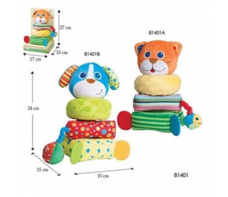 Купить 81401B Игрушка - пирамидка Собачка , Parkfield, Пирамидки для малышей