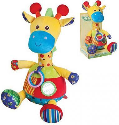 Мягкая игрушка жираф Parkfield Развивающая текстиль пластик мягкая игрушка развивающая k s kids часы сова