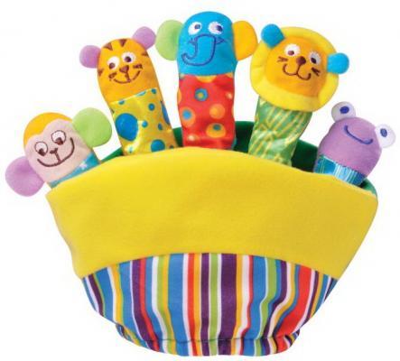 Купить Игрушка-рукавичка животные Parkfield Театр на ладошке текстиль 21 см, разноцветный, Интерактивные мягкие игрушки