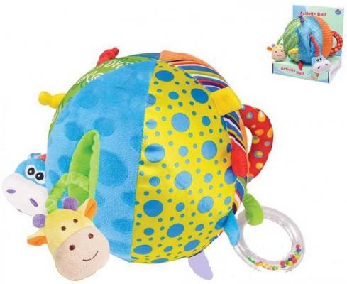 Мягкая игрушка мяч Parkfield Развивающая текстиль пластик мягкая игрушка развивающая k s kids часы сова