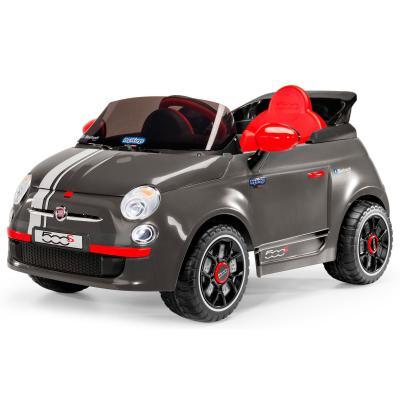 Каталка-машинка Peg Perego Fiat 500 серый от 1 года пластик ED1173 peg perego детский электромобиль с пультом управления fiat 500 pink 6v peg perego ed1164