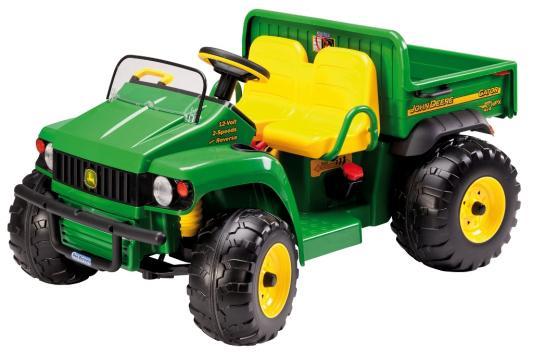 Каталка-машинка Peg Perego JD Gator HPX зелено-желтый от 3 лет пластик цена и фото