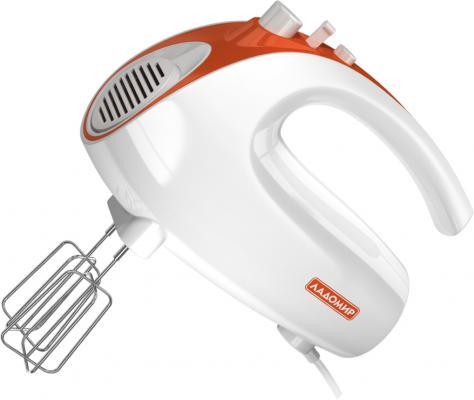Миксер ручной Ладомир 606-2 150 Вт белый оранжевый цена