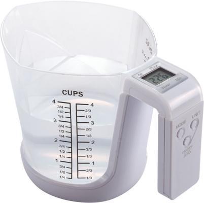 Весы кухонные Ладомир НА301 белый кухонные весы ладомир на303