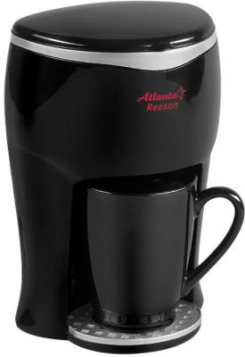 Кофеварка ATLANTA ATH-530 black кофеварка atlanta ath 530 черный