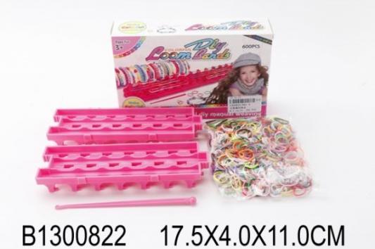 Фото - Набор для изготовления украшений Shantou Набор для творчества от 3 лет набор для творчества shantou gepai плетение браслетов с подвесками 942485 от 6 лет
