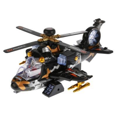 Вертолет Shantou Gepai Вертолет 736 черный 1711B039 вертолет oball вертолет синий