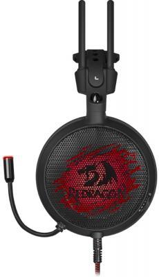 Игровая гарнитура проводная Defender Delirium черный красный 64213 игровая гарнитура проводная defender talos черный красный