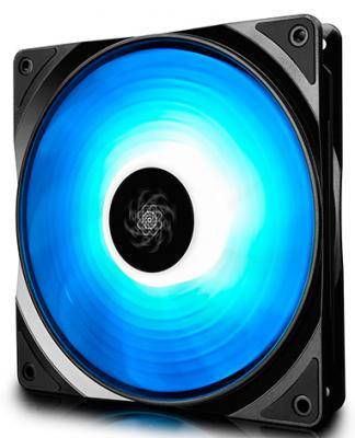 Вентилятор DEEPCOOL RF140 RGB 140x140x26мм (32шт./кор, PWM, пит. от мат.платы и БП, RGB подсветка, 500-1200об/мин) Retail
