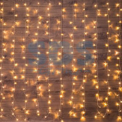 Гирлянда Светодиодный Дождь 1,5х1,5м, свечение с динамикой, прозрачный провод, 230 В, диоды ТЕПЛО-БЕЛЫЕ анищенко в с знакомство с нелинейной динамикой