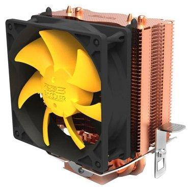 Кулер PCCooler S83 S775/115X/AM2/AM3/AM4/FM1/FM2 (48 шт/кор, TDP 90W, вент-р 80мм, 2 тепловые трубки 6мм, 2200RPM, 20dBa) Retail Color Box xim lisa lamps factory sale replacement projector lamp with housing tlplw14 75016599 for toshiba tdp tw355 tdp tw355u tdp t355