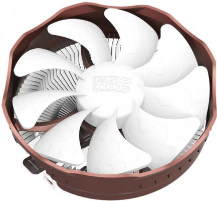Кулер PCCooler E121 S775/115X/AM2/AM3/AM4/FM1/FM2 (48 шт/кор, TDP 84W, вент-р 120мм, 1600RPM, 20dBa) Retail Color Box xim lisa lamps factory sale replacement projector lamp with housing tlplw14 75016599 for toshiba tdp tw355 tdp tw355u tdp t355