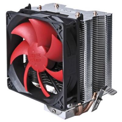 Кулер PCCooler S93 S775/115X/AM2/AM3/AM4/FM1/FM2 (32 шт/кор, TDP 102W, вент-р 90мм, 2 тепловые трубки 6мм, 2200RPM, 22dBa)