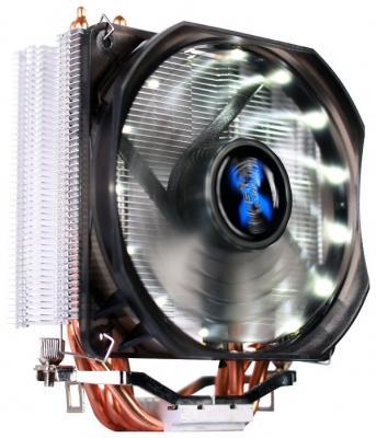 Кулер Zalman 9X OPTIMA CNPS9X S775/1150/51/55/56/AM2/2+/AM3/3+/FM1/2 (12 шт/кор, PWM, LED, 4 тепловые трубки, Al+Cu, 4-pin) Retail Color Box zalman cnps10x optima