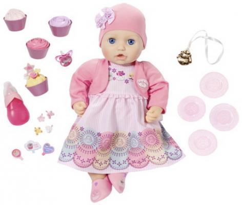 Кукла ZAPF Creation Baby Annabell 43 см пьющая писающая кукла zapf creation baby annabell памперсы 792 308