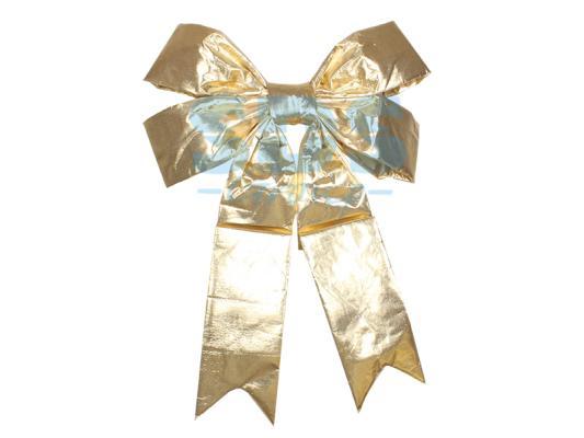 Елочная фигура Бантик 91 см, цвет золотой украшение новогоднее подвесное neon night бантик цвет красный золотой 45 см