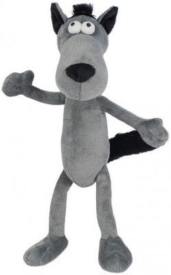 Мягкая Игрушка Волчок - Серый Бочок, 22 см, Гнутики, серый, искусственный мех, Животные  - купить со скидкой