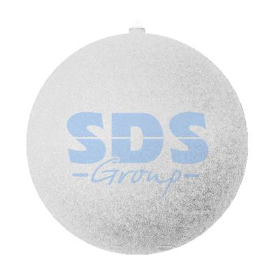 Елочная фигура Шар с блестками, 25 см, цвет серебряный светящееся украшение neon night фигура шар 20cm 200 led blue 501 607