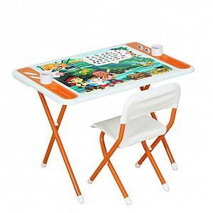 Купить Стол-стул Дэми Джейк и пираты Нетландии, Размер столешницы: 80х55 см., Игровые комплекты мебели