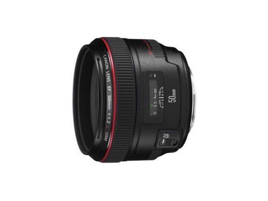 Объектив Canon EF 50mm F/1.2 L USM (1257B005) объектив canon ef 24mm f 2 8 is usm черный