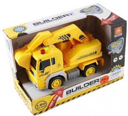Грузовик Наша Игрушка Грузовая с ковшом желтый WY510C грузовик наша игрушка грузовик оранжевый 11579 1