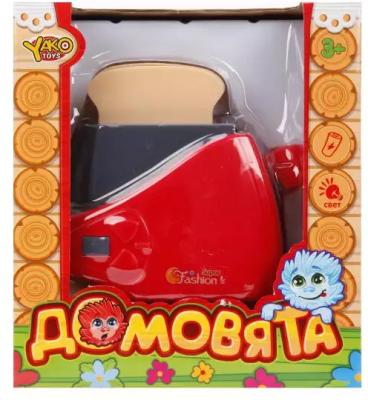 Тостер Наша Игрушка Тостер Домовята со звуком и светом тостер bork t703ch