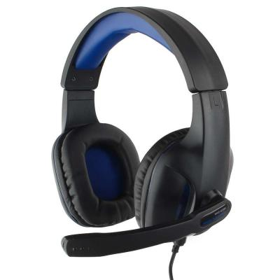 Игровая гарнитура проводная Gembird MHS-G205 черный первое впечатление g15 гарнитура компьютерная гарнитура игровая игровая гарнитура высокая точность стерео с микрофоном черный
