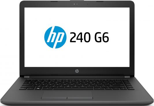 HP 240 G6 Core i5-7200U 2.5GHz,14 HD (1366x768) AG,4Gb DDR4(1),500Gb 5400,DVDRW,31Wh,1.8kg,1y,Silver,Win10Pro ноутбук hp 250 g6 1xn76ea core i5 7200u 4gb 500gb 15 6 win10pro black