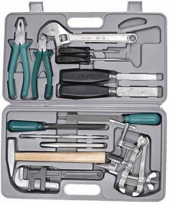 Набор слесарно-монтажного инструмента НИЗ ПРОГРЕСС 27622 сталь 40Х.в пласт кейсе.15 предметов набор инструментов сибин 27765 h56 слесарно монтажного инструмента 56предметов