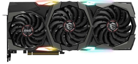 Видеокарта MSI nVidia GeForce RTX 2080 Ti GAMING X TRIO PCI-E 11264Mb GDDR6 352 Bit Retail (RTX 2080 TI GAMING X TRIO)