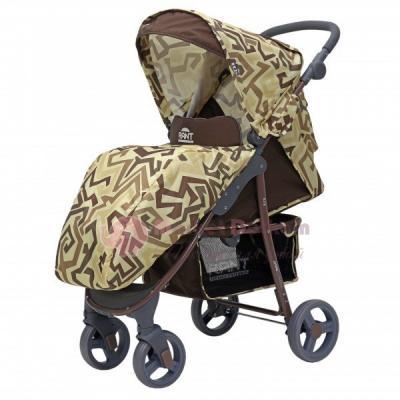 Фото - Коляска прогулочная Rant Kira (labirint beige) коляска прогулочная everflo safari grey e 230 luxe