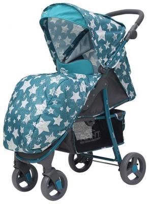 Фото - Коляска прогулочная Rant Kira (stars aquamarine) коляска прогулочная everflo safari grey e 230 luxe