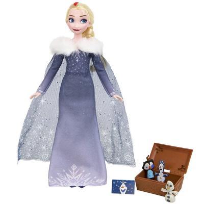 Игрушка Disney Princess кукла ХОЛОДНОЕ СЕРДЦЕ РОЖДЕСТВО С ОЛАФОМ кукла disney princess холодное сердце 27 см в ассортименте