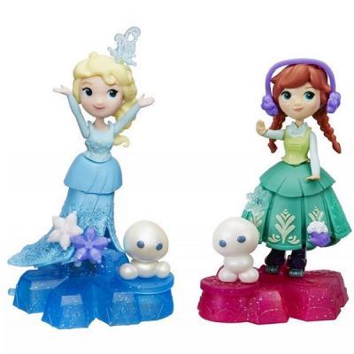 Кукла HASBRO Маленькая Кукла Холодное Сердце на платформе-снежинке B9249 кукла маленькая леди даша в платье 1979746